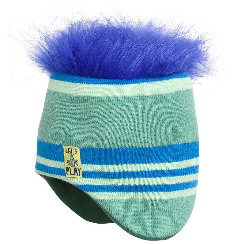 BKQ3012/1 шапка для мальчиков (1 шт в кор.)