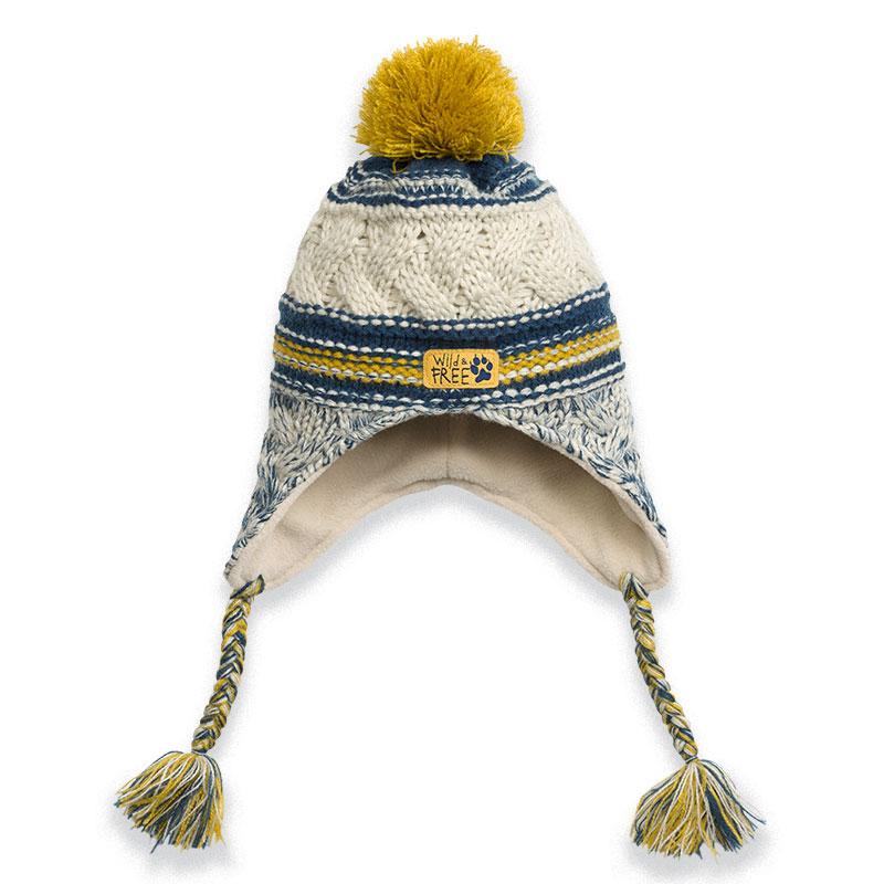BKQ3024/1 шапка для мальчиков (1 шт в кор.)