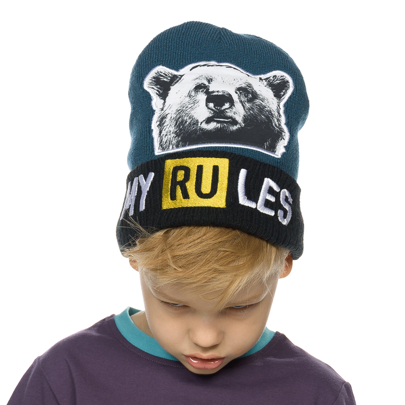 BKQW3192 шапка для мальчиков (1 шт в кор.)