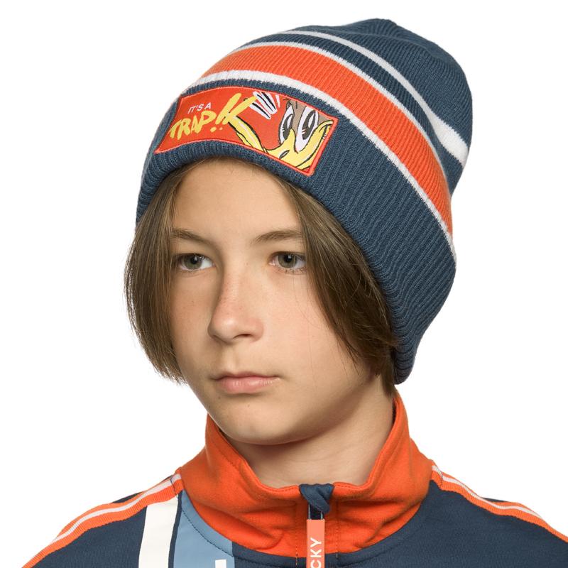 BKQX4215 шапка для мальчиков (1 шт в кор.)