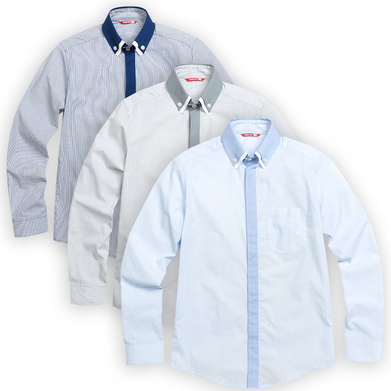 BWCJ7048 сорочка верхняя для мальчиков (1 шт в кор.)