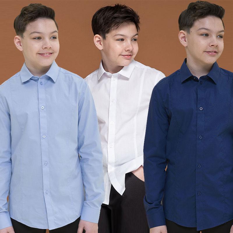 BWCJ7063 сорочка верхняя для мальчиков (1 шт в кор.)