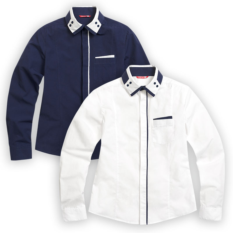BWCJ7068 сорочка верхняя для мальчиков (1 шт в кор.)