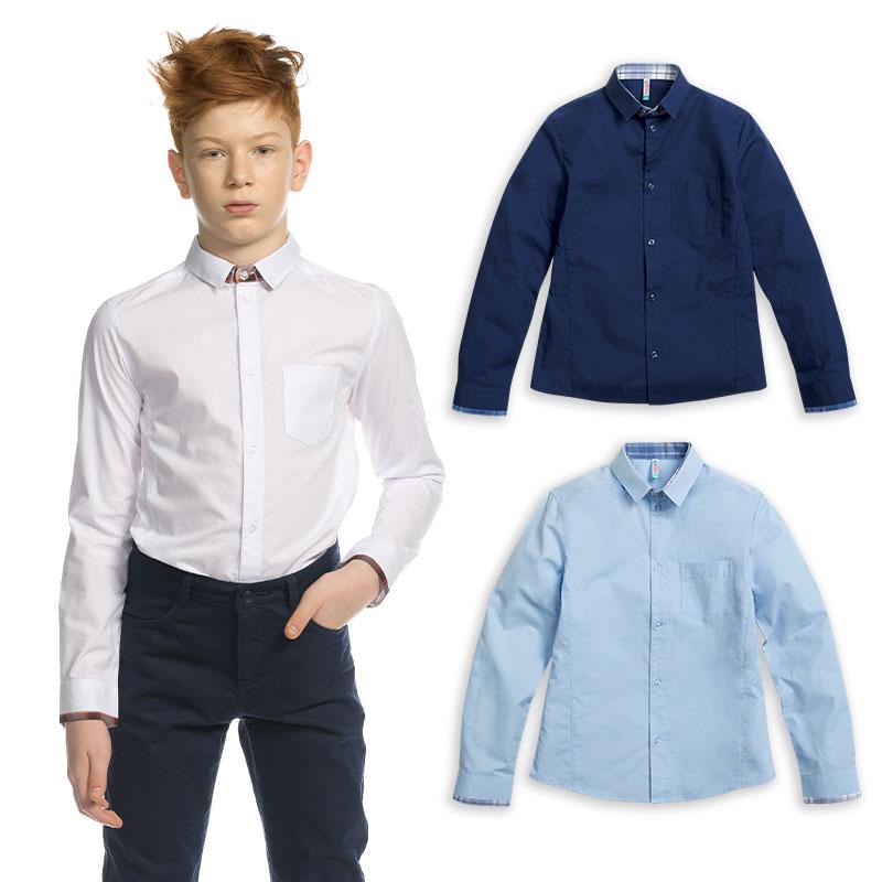 BWCJ7086 сорочка верхняя для мальчиков (1 шт в кор.)