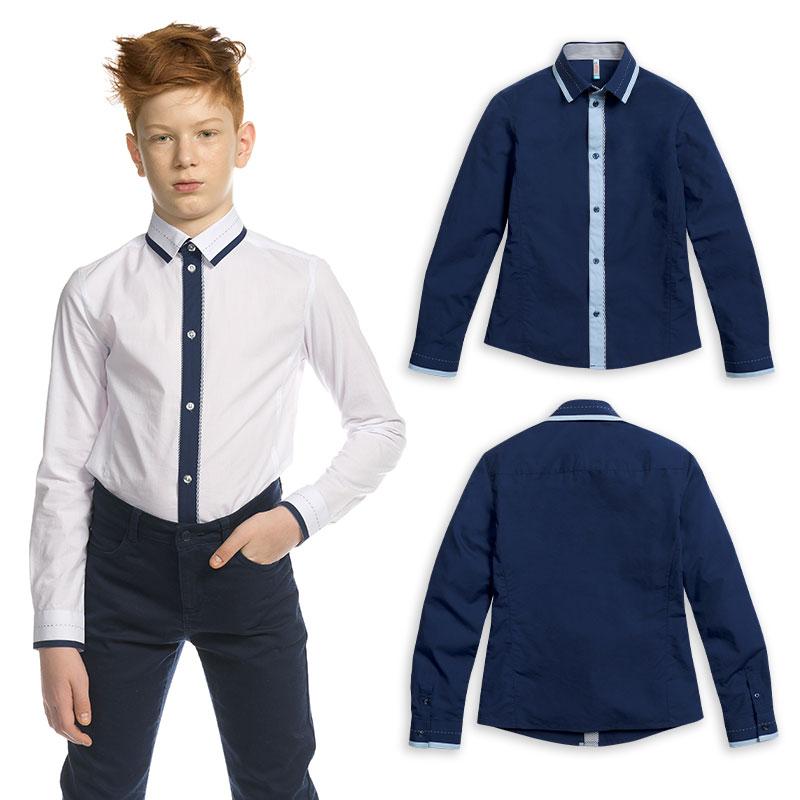 BWCJ7087 сорочка верхняя для мальчиков (1 шт в кор.)