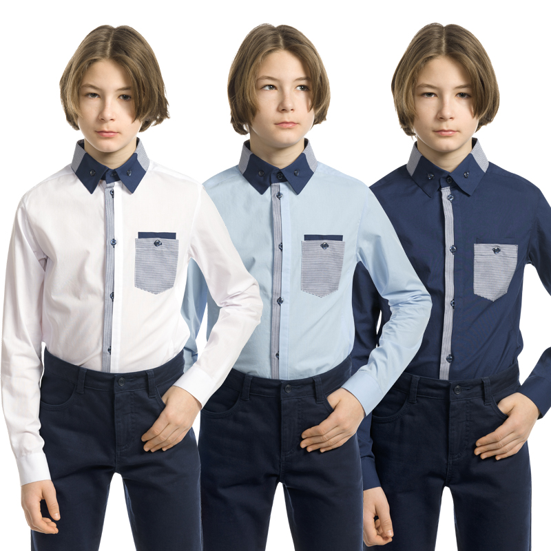 BWCJ7095 сорочка верхняя для мальчиков (1 шт в кор.)