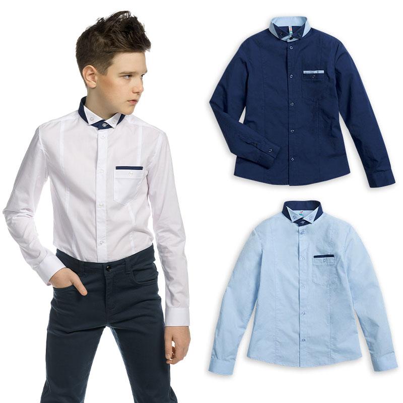 BWCJ8084 сорочка верхняя для мальчиков (1 шт в кор.)