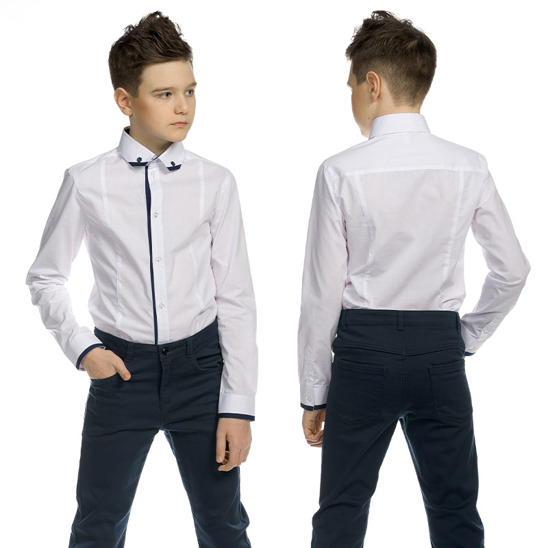 BWCJ8085 сорочка верхняя для мальчиков (1 шт в кор.)