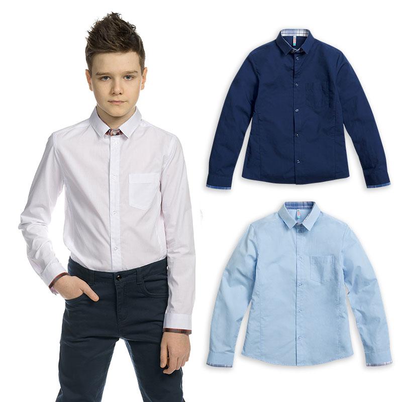 BWCJ8086 сорочка верхняя для мальчиков (1 шт в кор.)