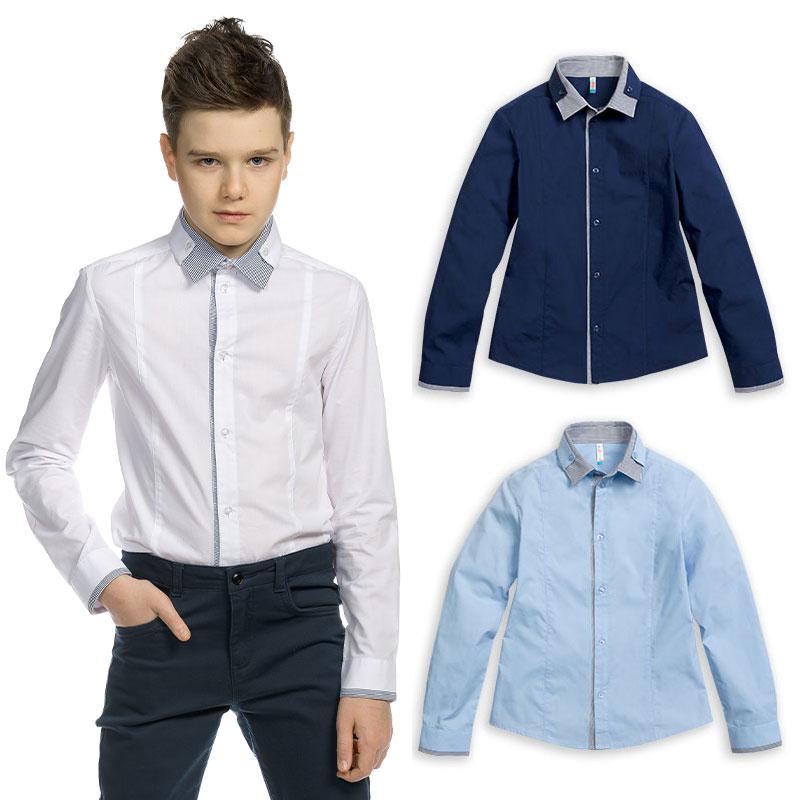 BWCJ8088 сорочка верхняя для мальчиков (1 шт в кор.)