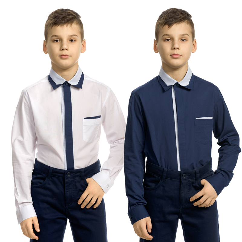 BWCJ8097 сорочка верхняя для мальчиков (1 шт в кор.)