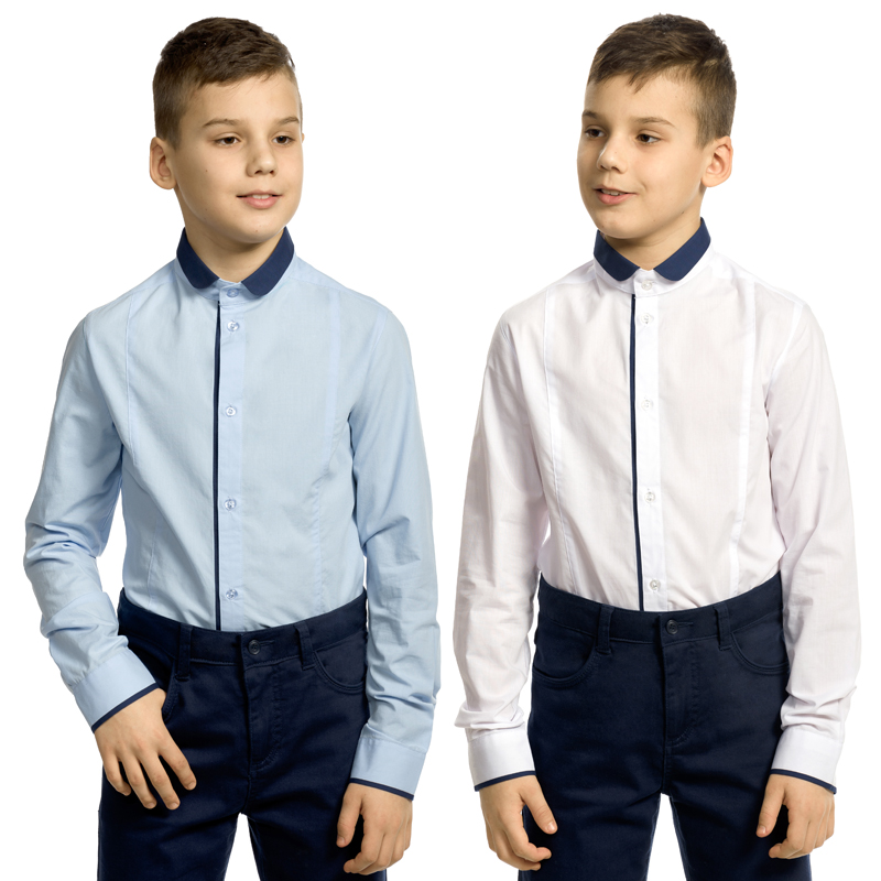 BWCJ8098 сорочка верхняя для мальчиков (1 шт в кор.)