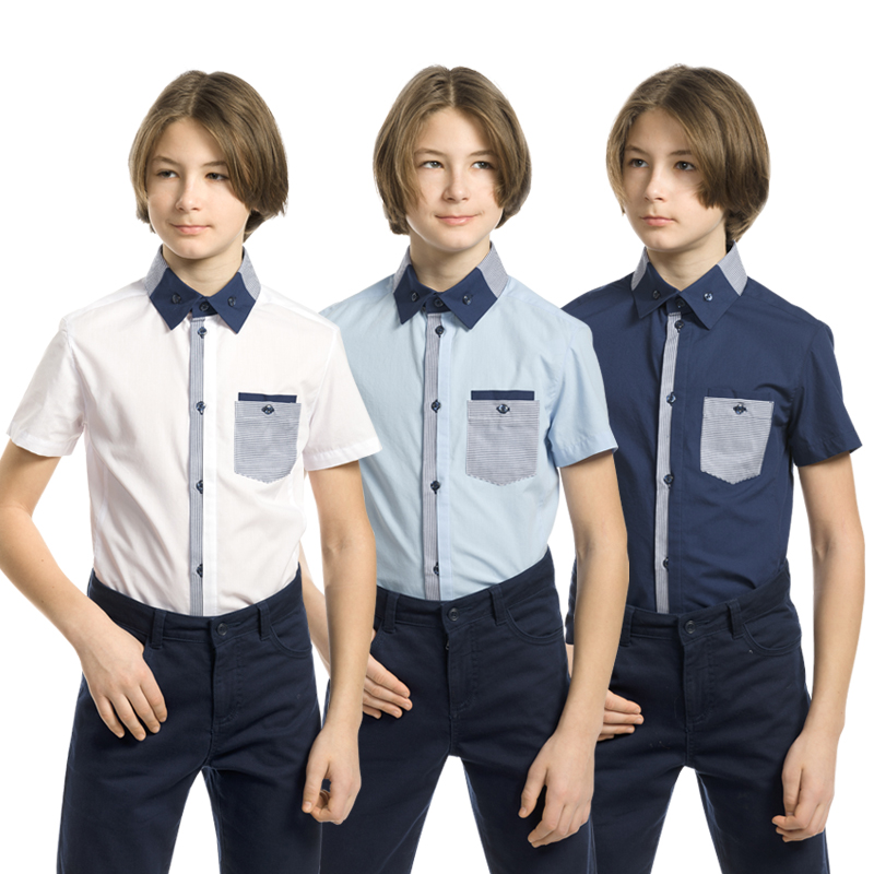 BWCT7100 сорочка верхняя для мальчиков (1 шт в кор.)