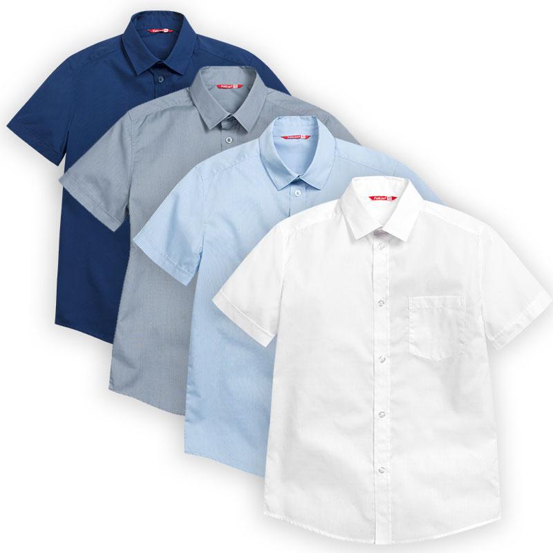 BWTX8013 сорочка верхняя для мальчиков (1 шт в кор.)