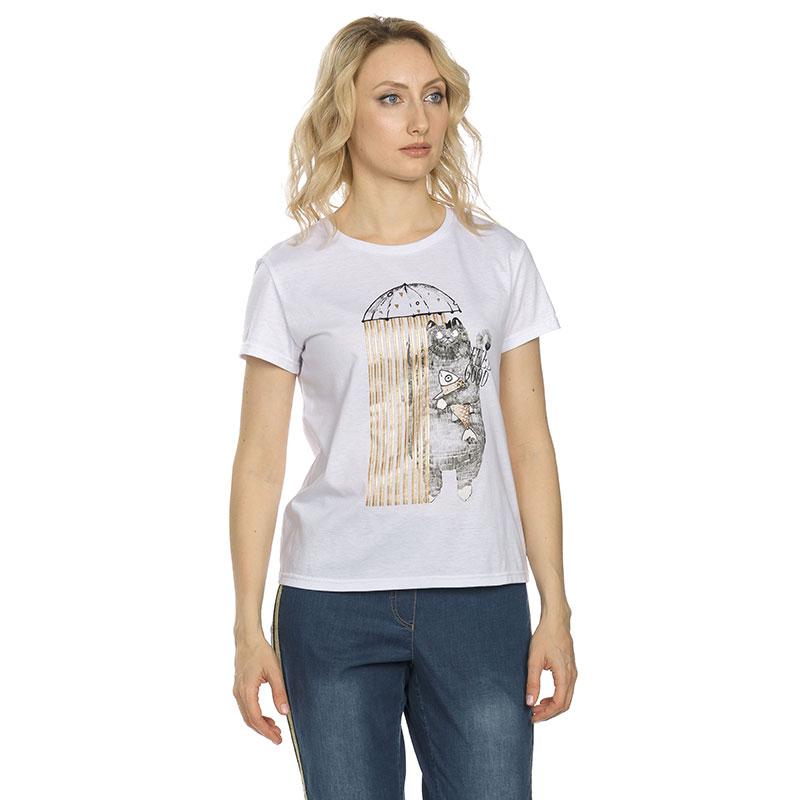 DFT6652 футболка женская (1 шт в кор.)