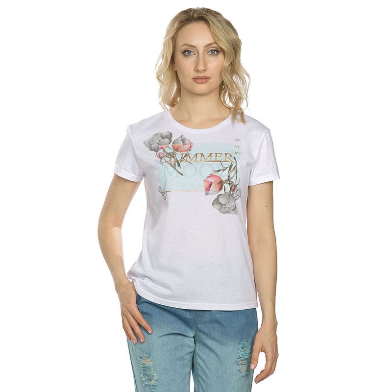 DFT6656 футболка женская (1 шт в кор.)