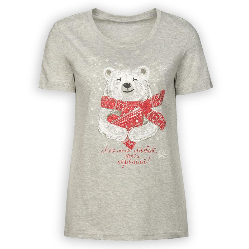DFT6754 футболка женская (1 шт в кор.)