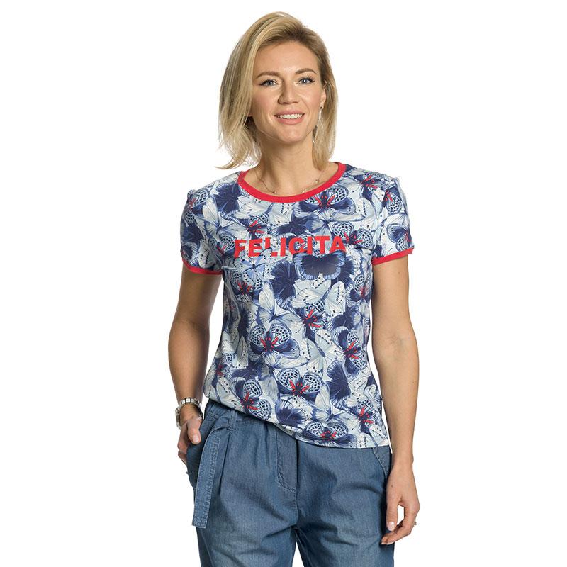 DFT6768 футболка женская (1 шт в кор.)