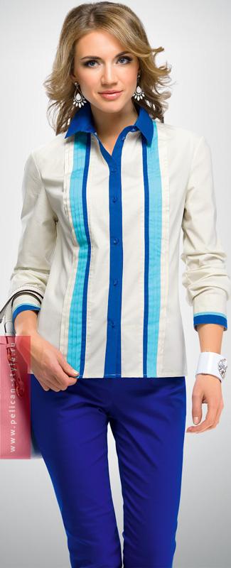 FWJX656/1 блузка женская (1 шт в кор.)