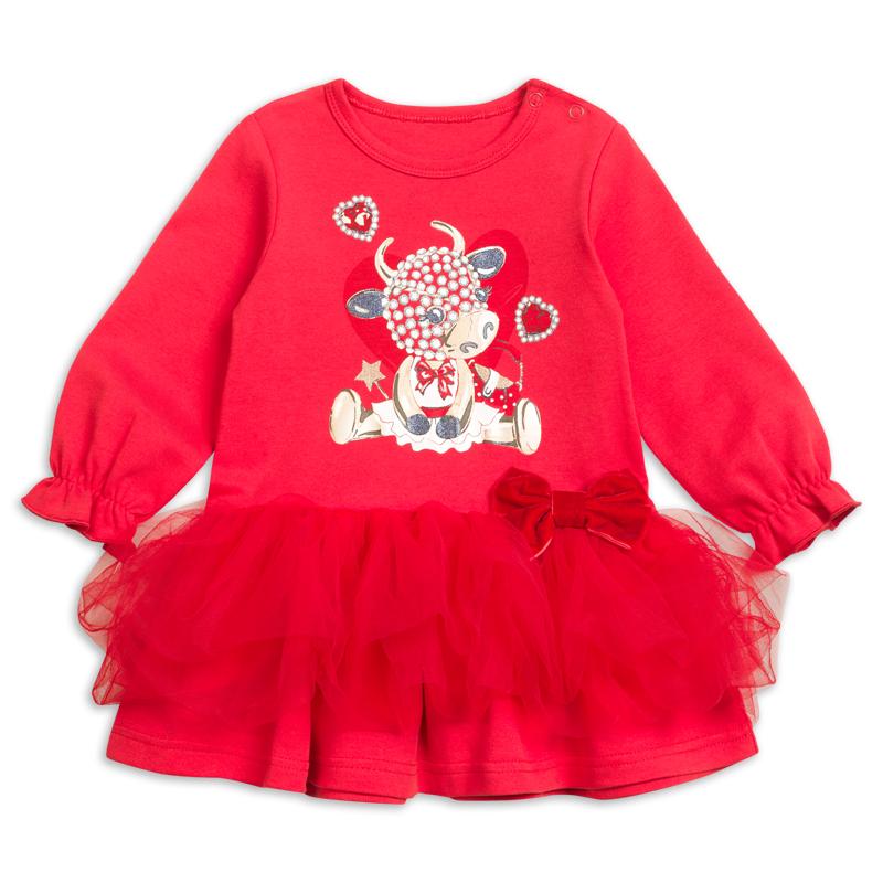GFDJ1822 платье для девочек (1 шт в кор.)