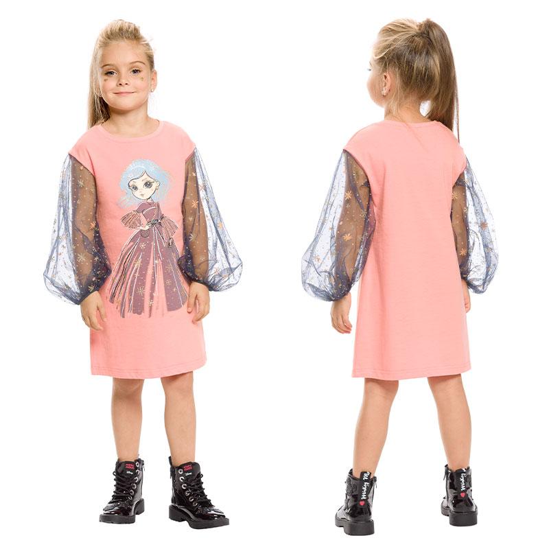 GFDJ3154 платье для девочек (1 шт в кор.)