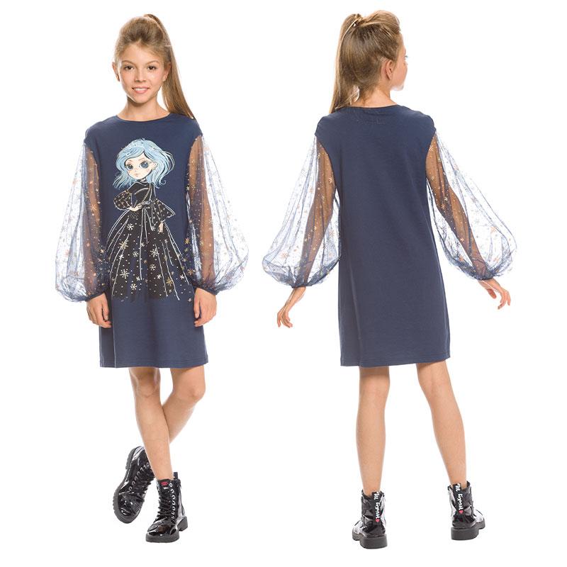 GFDJ4154 платье для девочек (1 шт в кор.)