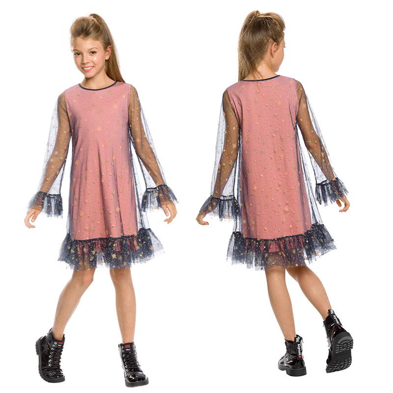 GFDJ4154/1 платье для девочек (1 шт в кор.)