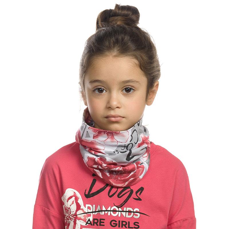 """GFFX3157 шарф (модель """"снуд"""") для девочек (1 шт в кор.)"""