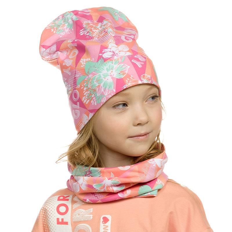 """GFFX3160 шарф (модель """"снуд"""") для девочек (1 шт в кор.)"""