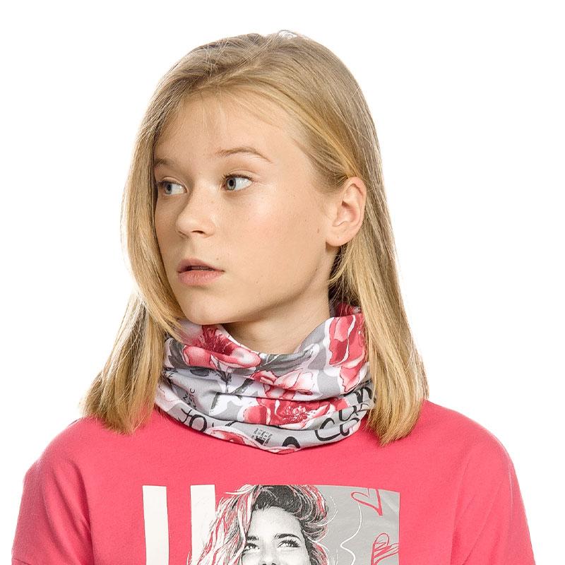 """GFFX4157 шарф (модель """"снуд"""") для девочек (1 шт в кор.)"""