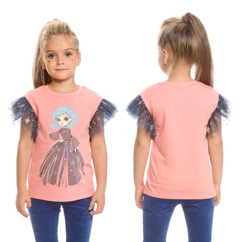"""GFT3154 джемпер (модель """"футболка"""") для девочек (1 шт в кор.)"""