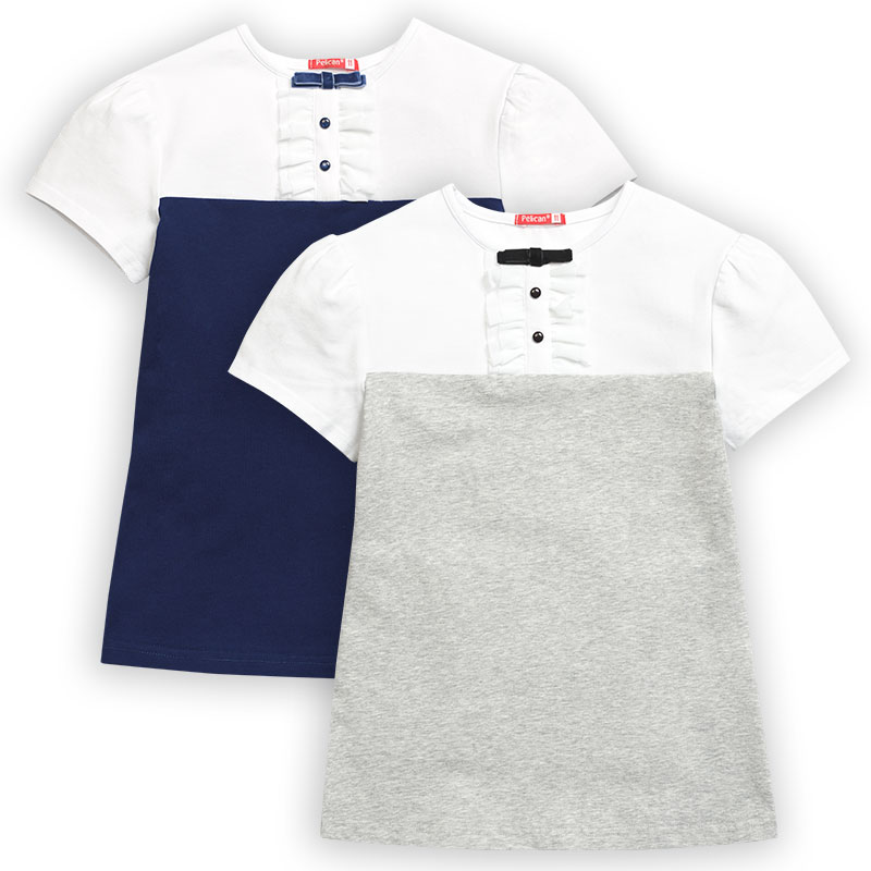 GFT8071 футболка для девочек (1 шт в кор.)