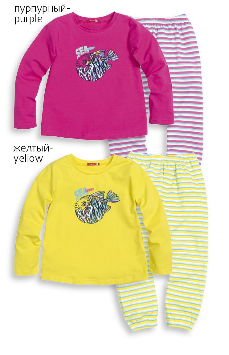 GNJP387/1 пижама для девочек (1 шт в кор.)