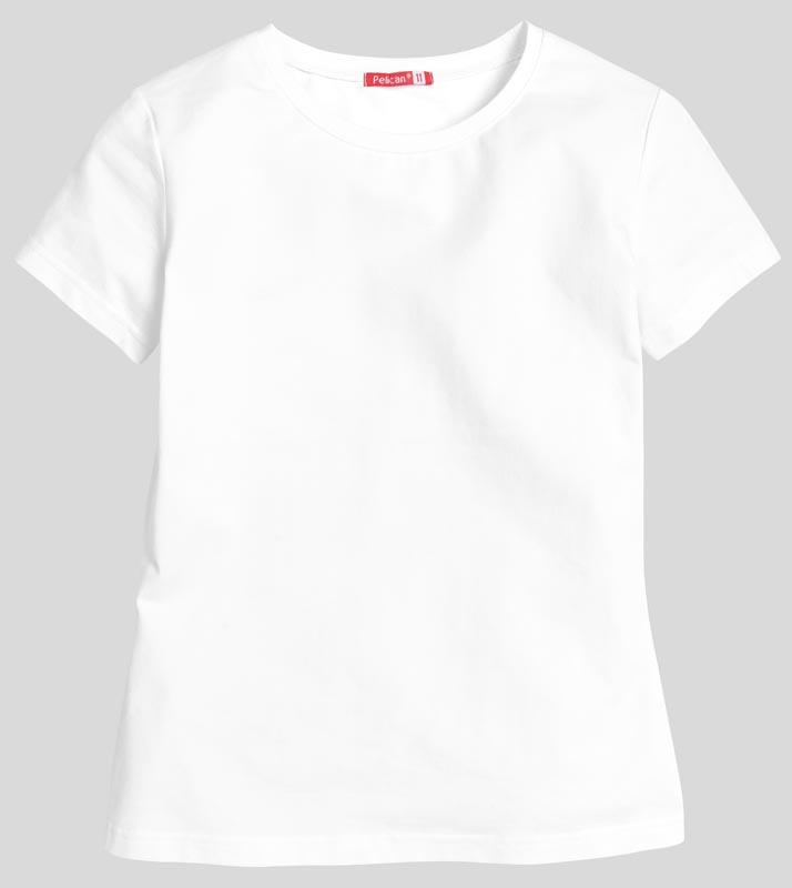 """GTR7012 джемпер (модель """"футболка"""") для девочек (1 шт в кор.)"""