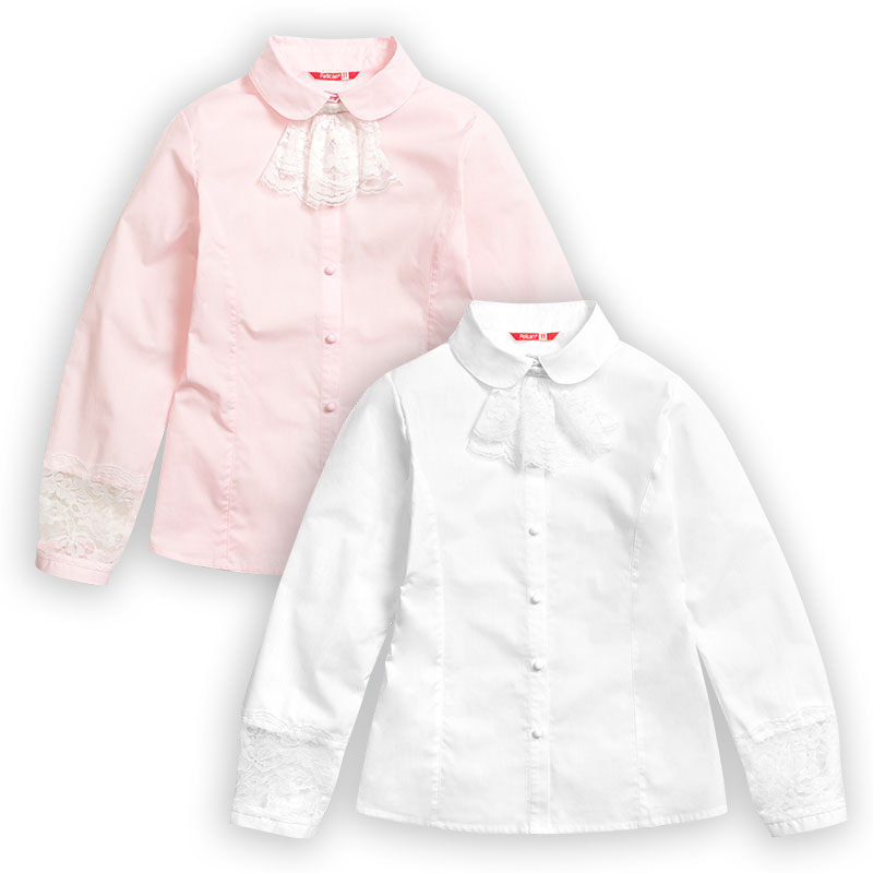 GWCJ7074 блузка для девочек (1 шт в кор.)