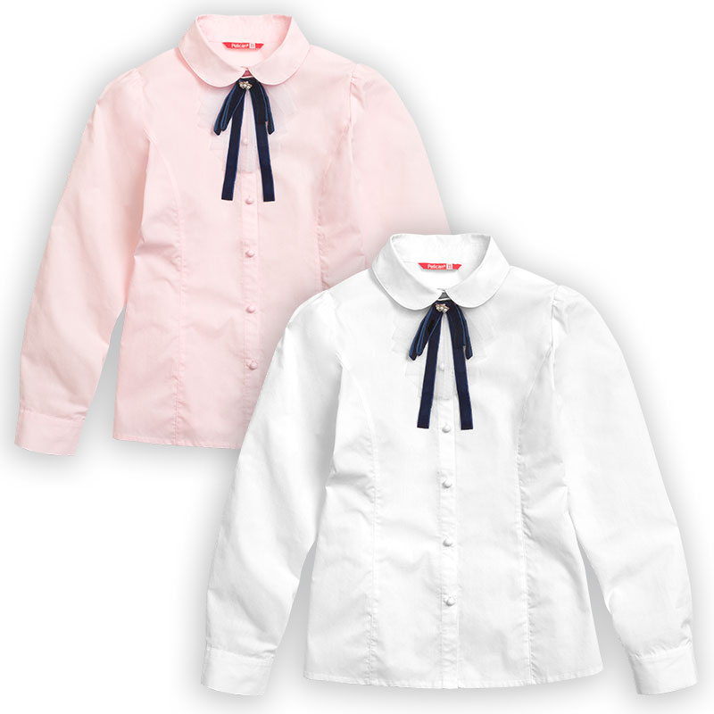 GWCJ8072 блузка для девочек (1 шт в кор.)
