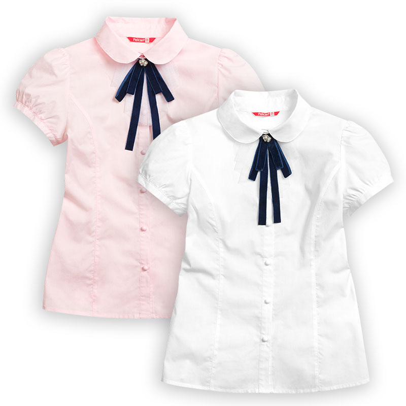 GWCT7081 блузка для девочек (1 шт в кор.)