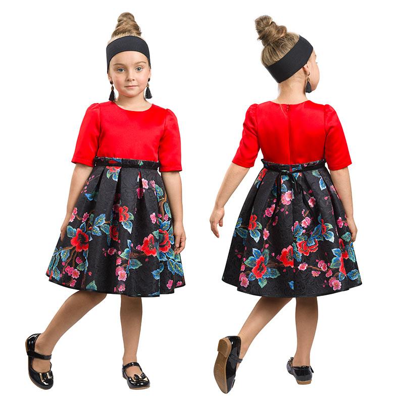 GWDT3155/1 платье для девочек (1 шт в кор.)