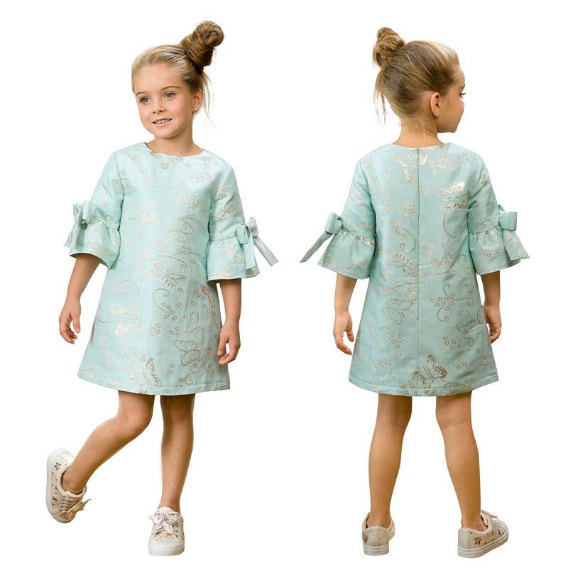 GWDT3155/2 платье для девочек (1 шт в кор.)