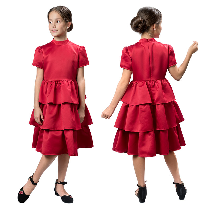 GWDT4155 платье для девочек (1 шт в кор.)