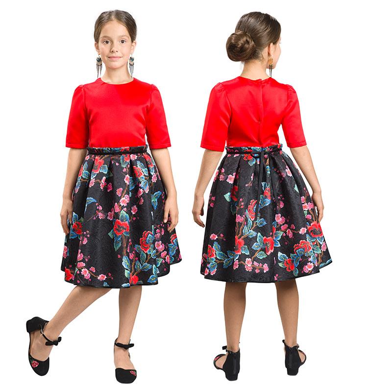 GWDT4155/1 платье для девочек (1 шт в кор.)