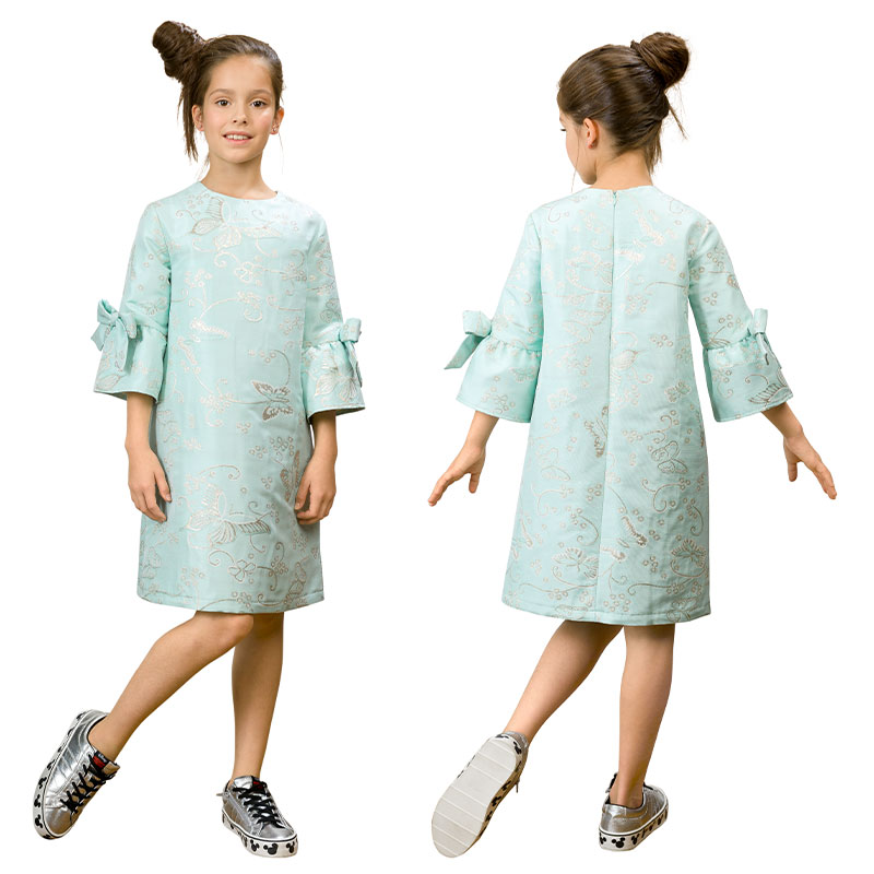 GWDT4155/2 платье для девочек (1 шт в кор.)