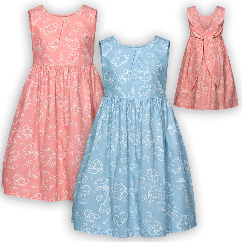GWDV4051 платье для девочек (1 шт в кор.)