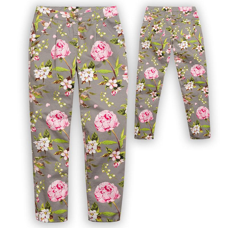 GWP4052/2 брюки для девочек (1 шт в кор.)