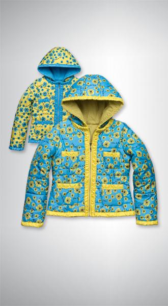 GZWL475 куртка для девочек (1 шт в кор.)