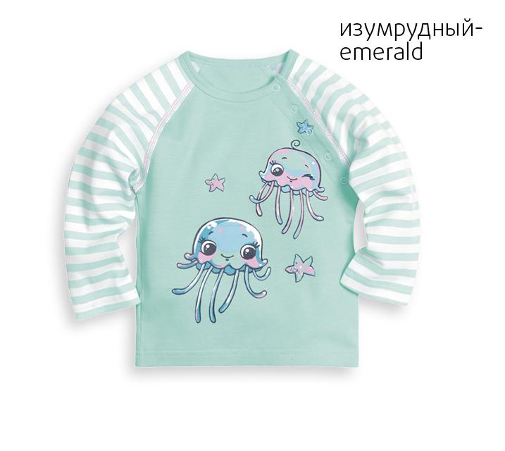 SJ425/1 рубашечка детская с длинными рукавами