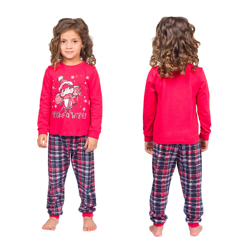 WFAJP3786U пижама для девочек (1 шт в кор.)
